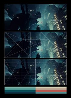 Blade Runner (1982)_ Rebated Square grid + 8x8 grid + color set