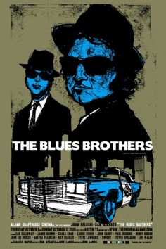 The Blues Brothers alternative poster, 2008 | Scrojo | Mondo: The Archive