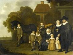 Jacob van Loo, family Meebeeck Cruywagen, 1640 - 1645, Rijksmuseum Amsterdam