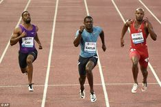 World Championships in Beijing could become podium of shame as drugs cheats Justin Gatlin, Tyson Gay and Asafa Powell lead the field      Usain Bolt is likely to be absent from next month's World Championships      Justin Gatlin, Tyson Gay and Asafa Powell have all served drugs bans      The race bears comparison with the notorious 1988 final in Seoul     Winner Ben Johnson tested positive for stanozolol after the race     Five more finalists, including Linford Christie, were tainted by…