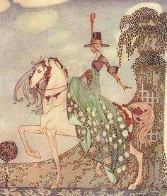 The Twelve Dancing Princesses Fine Art Nouveau 24 Color Illustr Kay Nielsen 1988 | eBay