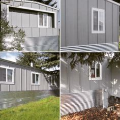 213 Best Mobile Home Exteriors Images In 2019 Mobile Home Living
