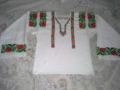 Costum Populara Bucovina- camasa populara stilizata Bucovina Christmas Sweaters, Costumes, Color, Fashion, Colour, Moda, Dress Up Clothes, La Mode, Christmas Jumper Dress
