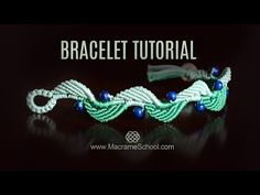 Frozen Elsa Macramé Necklace Tutorial by Macrame School. Please watch more…