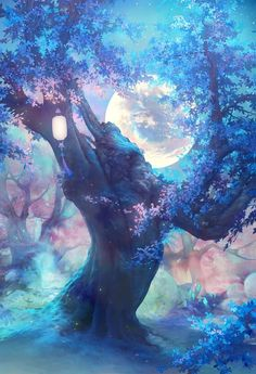 Fantasy Landscape Wallpaper Inspiration Ideas For 2019 Anime Scenery Wallpaper, Landscape Wallpaper, Galaxy Wallpaper, Fantasy Art Landscapes, Fantasy Artwork, Landscape Art, Fantasy Trees, Landscape Photography, Animal Photography