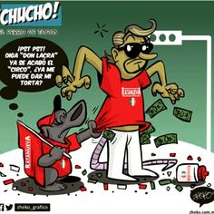 """Chucho 75"" #ElCartonDelDia #Zheko_grafico #DistrutenloConLeche"