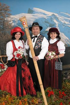 Swiss traditional dress