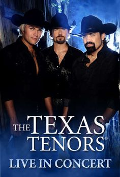 """The Texas Tenors, an """"indie country"""" trio were viewed by millions on the hit TV show Americas Got Talent, and now it's your chance to relive their classic performances, including brand new material, in Branson."""
