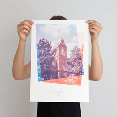 This series of prints is based on The Big Letter Hunt, an alphabet picture book…