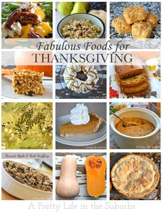 12 Fabulous Food Inspirations for Thanksgiving!