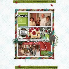 December 24 - Digital Scrapbooking Ideas - DesignerDigitals