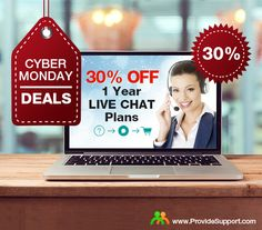 Today is the last day to get 30% OFF any yearly subscription to Provide Support Live Chat/ Real-time Visitor Monitoring software. Make your customer support incredibly fast and efficient and get your sales increased this holiday season! Request your discount in our live chat right now: http://www.providesupport.com/ #CyberMonday #customersupport