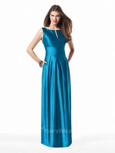 【Everytide.com Long Bridesmaid Dress】Wholesale Elegant Scoop Floor-length A Line Bridesmaid Dresses / Wedding Party / Prom Party