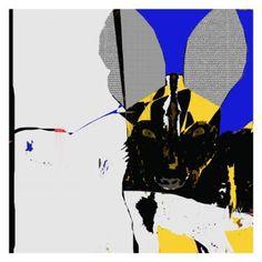 "Saatchi Art Artist Simone Guimaraes; Drawing, ""African Wild Dog, Limited Edition…"