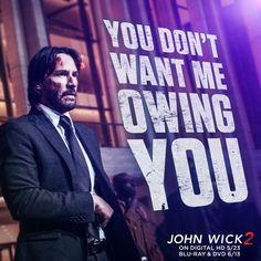 Keanu Reeves as John Wick #JohnWick2