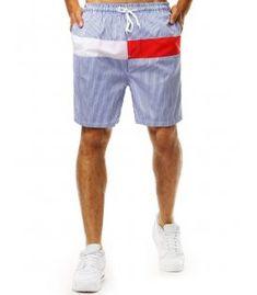 Modré pásikavé krátke nohavice Patterned Shorts, Denim Shorts, Men, Fashion, Jean Shorts, Printed Shorts, Fashion Styles, Fashion Illustrations, Trendy Fashion