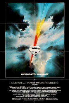 "Superman: The Movie (1978) Vintage Movie Poster - 27""x 41"""