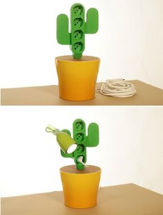 Light Art in Italy: Power Cactus, the Best Multi Plug-In Device