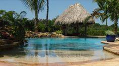 Beach entry pool :)