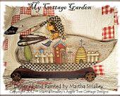 "E Pattern - Martha Smalley's Apple Tree Cottage Designs - ""Bottle of Boos"". $5.00, via Etsy."