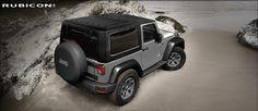 Jeep Wrangler Rubicon in Grey – Hard Top
