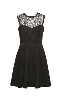 Dress in black by Pink Martini, $98.50 at Salamander.