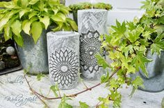 DIY: Kerzenständer aus Zement
