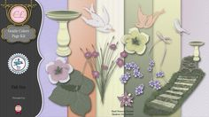 CLGraphics Gentle Colors Page Kit
