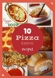 10 Pizza Inspired Recipes