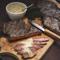 Ensure supreme succulence for these rump steaks by injecting them with garlic flavoured olive oil beforehand. Rump Steak Recipes, How To Make Steak, Flavored Olive Oil, Lamb Ribs, Juicy Steak, Allrecipes, Supreme, Pork, Menu