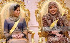 Royal Wedding of the Princess Majededah the daughter of the Sultan of Brunei Hassanal Bolkiah, with Yag Mulia Pengiran In Brunei Darussalam On June 07, 2007