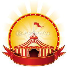 Circus poster — Imagens vectoriais em stock #3993339