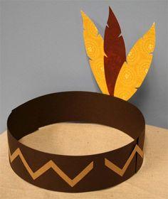Indian Hat Craft   Designer Cuts svg file DESIGNER CUTS HOLIDAY BUNDLE THANKSGIVING
