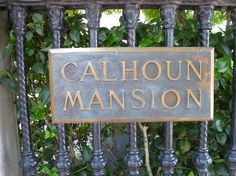 Calhoun Mansion in Charleston, SC. This is where the interior shots of Allies house were filmed. Tours are available.