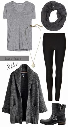 birdie to be: Easy Travel outfit