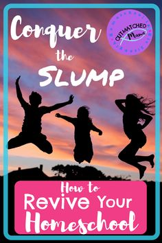 How to Conquer the Homeschool Slump And Revive Your Homeschool - The Outmatched Mama Fun Educational Games, Feeling Discouraged, Grammar Lessons, Home Schooling, Read Aloud, Life Skills, Lesson Plans, Breathe, Encouragement