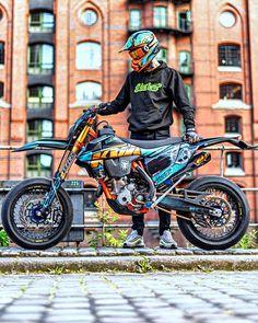 Triumph Motorcycles, Custom Motorcycles, Bobbers, Ktm Dirt Bikes, Dirt Biking, Ducati, Ktm Supermoto, Enduro Motocross, Stunt Bike