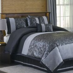 Lush Decor Metallic Animal 6-pc. Comforter Set - King