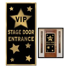 VIP Stage Door Entrance Door Cover (12ct)
