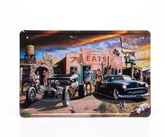 Placa Decorativa Custom Culture - Machine Cult   A loja das camisetas de carro e moto
