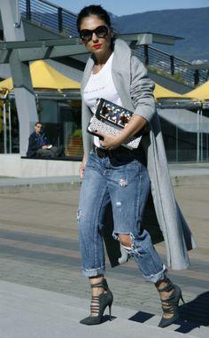@aurelalacaj (www.aurelafashionista.com) | Unos stilettos son el básico que no puede faltar en tu armario para ponerle un toque elegante a cualquier look. Muéstranos tu mejor look en Befitted.com ¡Ganarás dinero cada vez que alguien compre inspirándose en ti!