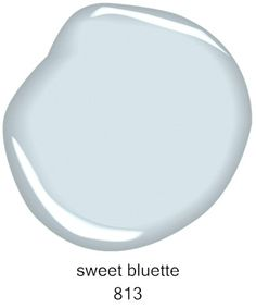 Benjamin Moore Sweet Bluette 813 for vanity?