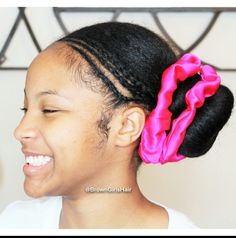 Sock Buns don't have to be boring!...check it out here http://www.browngirlsstyle.com/cornrows-sock-bun-hairstyle-tutorial/#bunlife #browngirlshair #teamnatural