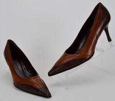 Stuart Weitzman Women's Size 11 M Brown Leather Heels #StuartWeitzman…