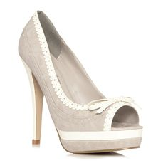 These would be great with a cute skirt suit.
