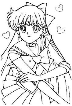 11 best Sailor Moon Lineart