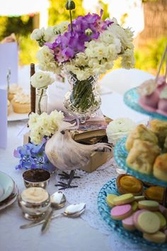 Little Big Company | The Blog: A 100 Reasons to Celebrate! A 100th Birthday tea party by That Vintage Caravan