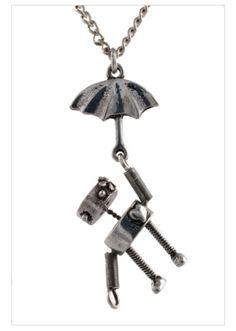 Umbrella flying