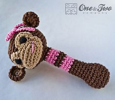 Monkey Rattle - $3.99 by Carolina Guzman