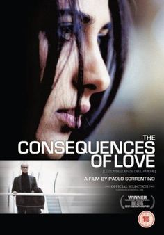 """Le conseguenze dell'amore"", psychological thriller film by Paolo Sorretino (Italy, 2004)"